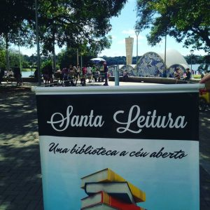 Santa Leitura no Bosque